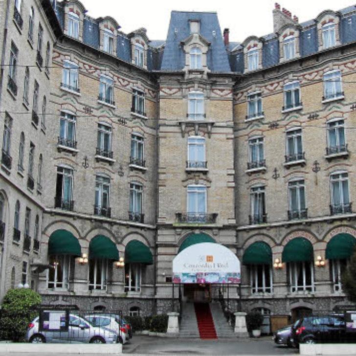CONCORDIA LE MANS CENTRE GARE Hotel Parking (Overdekt) Le Mans