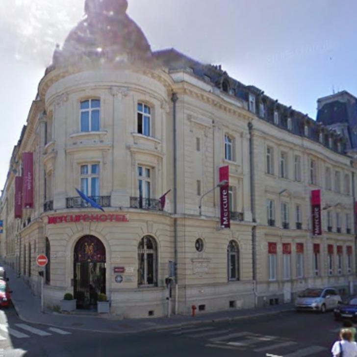 Hotel Parkhaus MERCURE LE MANS CENTRE (Überdacht) Le Mans