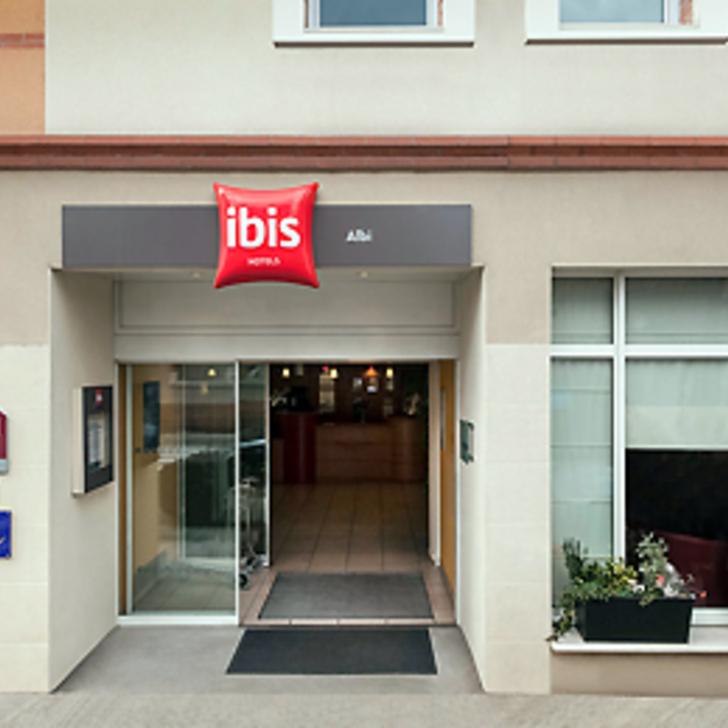 Parking Hotel IBIS BUDGET ALBI CENTRE (Cubierto) Albi