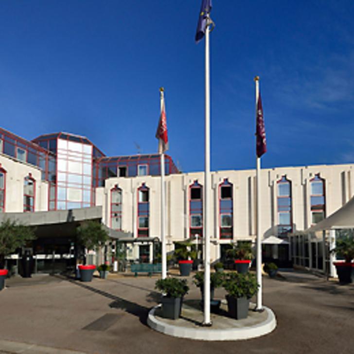 Parking Hotel MERCURE ROUEN CHAMP-DE-MARS (Cubierto) Rouen