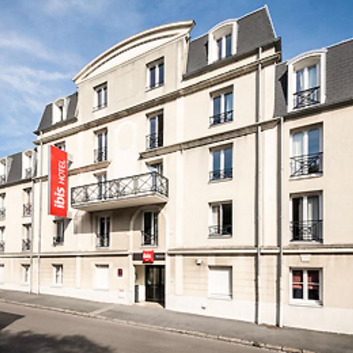 IBIS VALENCIENNES Hotel Parking (Exterieur) Valenciennes