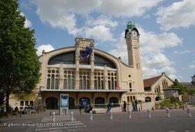 Parkeerplaatsen Het station van Rouen in Rouen - Boek tegen de beste prijs
