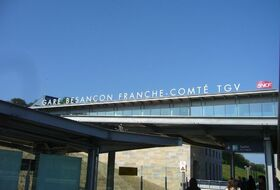 Station of Besançon TGV car parks in Auxon - Book at the best price