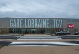 Gare Lorraine TGV car parks in Louvigny - Book at the best price