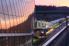 Parques de estacionamento Estação TGV de Belfort Montbeliard em Meroux-Moval - Reserve ao melhor preço