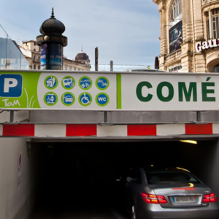 TAM COMÉDIE Openbare Parking (Overdekt) MONTPELLIER