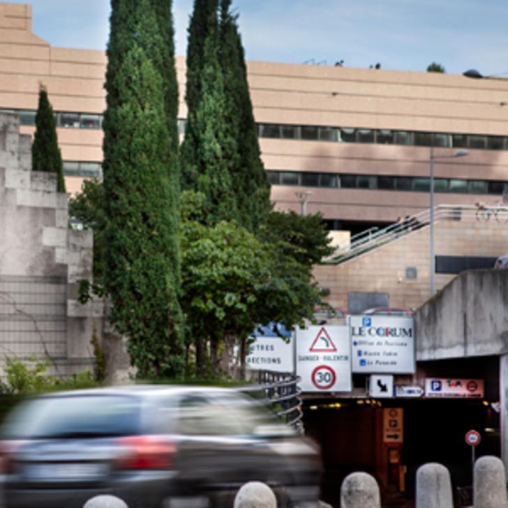 Parking Public TAM CORUM (Couvert) MONTPELLIER