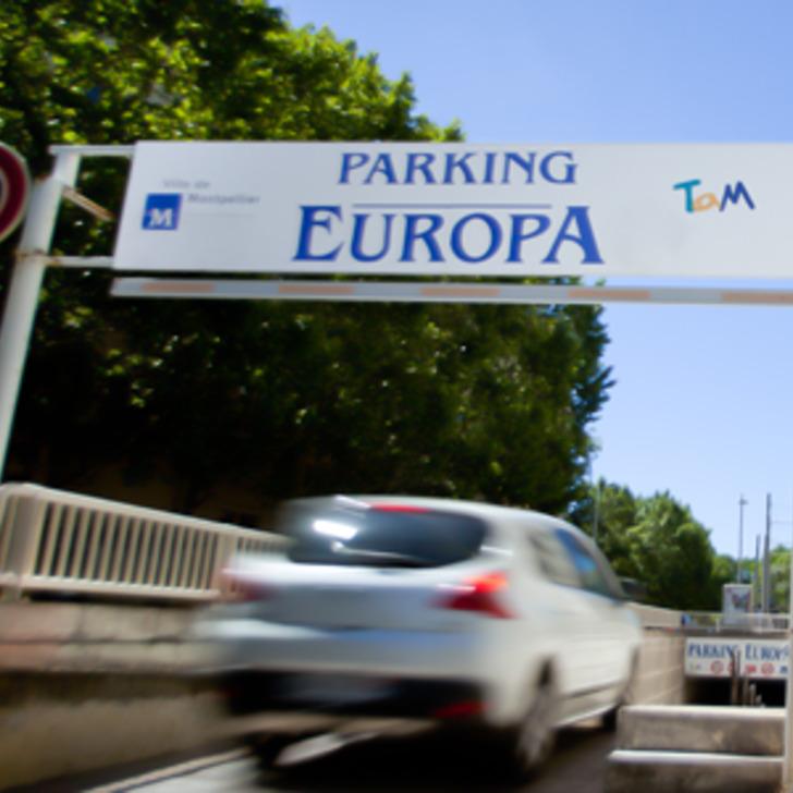 Parking Público TAM EUROPA (Cubierto) Montpellier