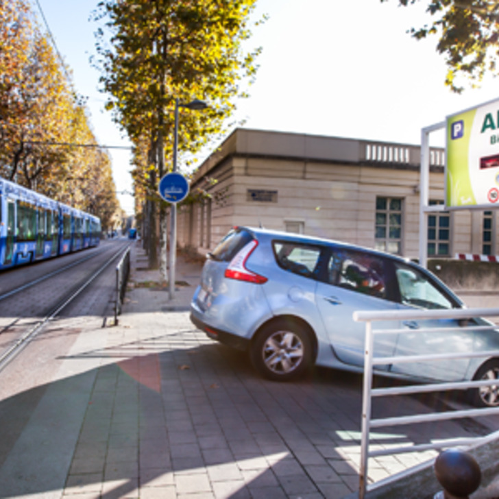 TAM ANTIGONE Public Car Park (Covered) MONTPELLIER