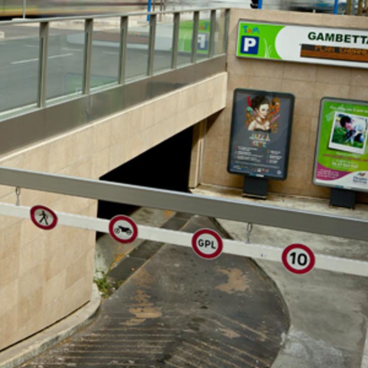 TAM GAMBETTA Public Car Park (Covered) Montpellier
