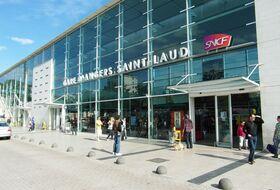 Parques de estacionamento Estação Angers-Saint-Laud em Angers - Reserve ao melhor preço