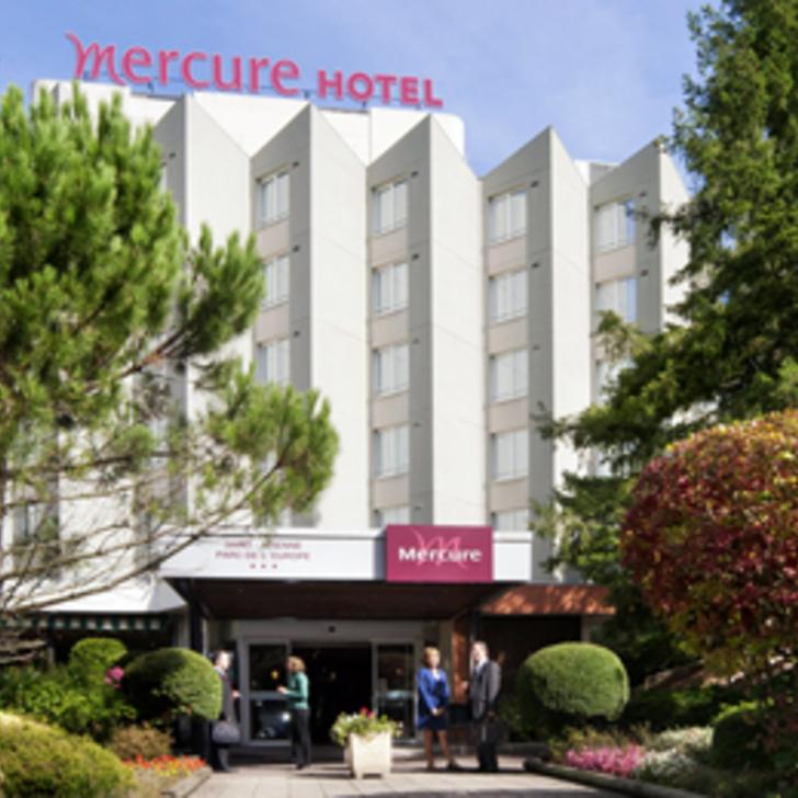Parking Hôtel MERCURE SAINT-ÉTIENNE PARC DE L'EUROPE (Extérieur) Saint-Etienne