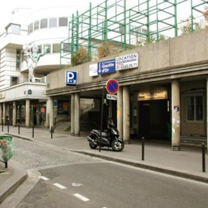 SAEMES GOUTTE D'OR Openbare Parking (Overdekt) Paris
