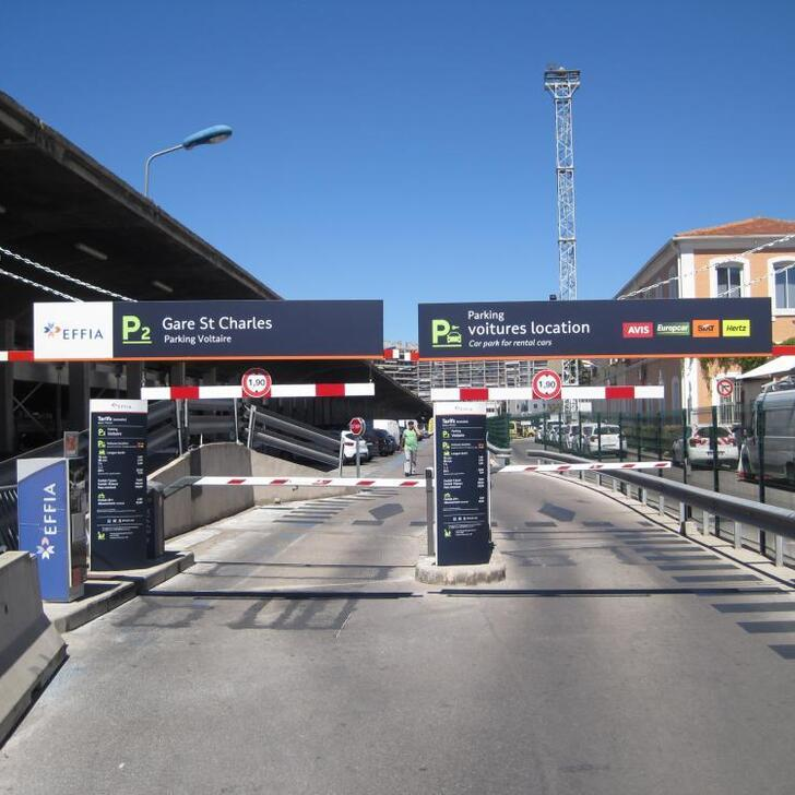 Offiziell Parkhaus P2 EFFIA GARE DE MARSEILLE SAINT-CHARLES (Extern) Marseille