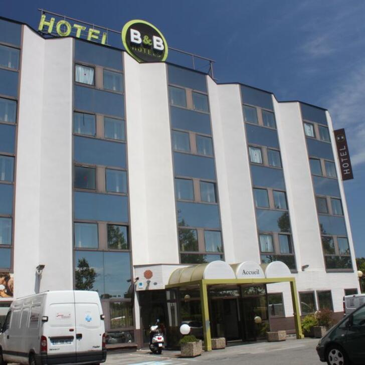Hotel Parkhaus B&B TOULOUSE CENTRE (Überdacht) Toulouse