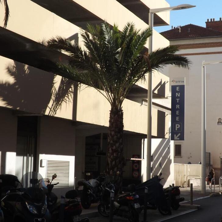 Parking Oficial EFFIA GARE DE CANNES (Cubierto) Cannes