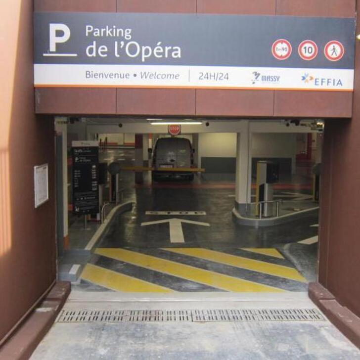 Parking Public EFFIA OPÉRA (Couvert) Massy