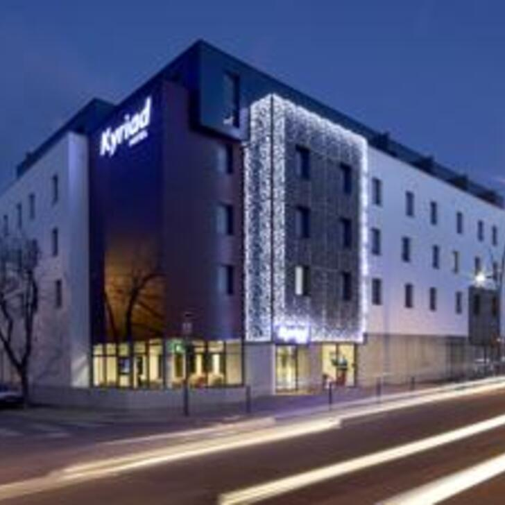 Hotel Parkhaus KYRIAD TROYES CENTRE (Überdacht) Troyes