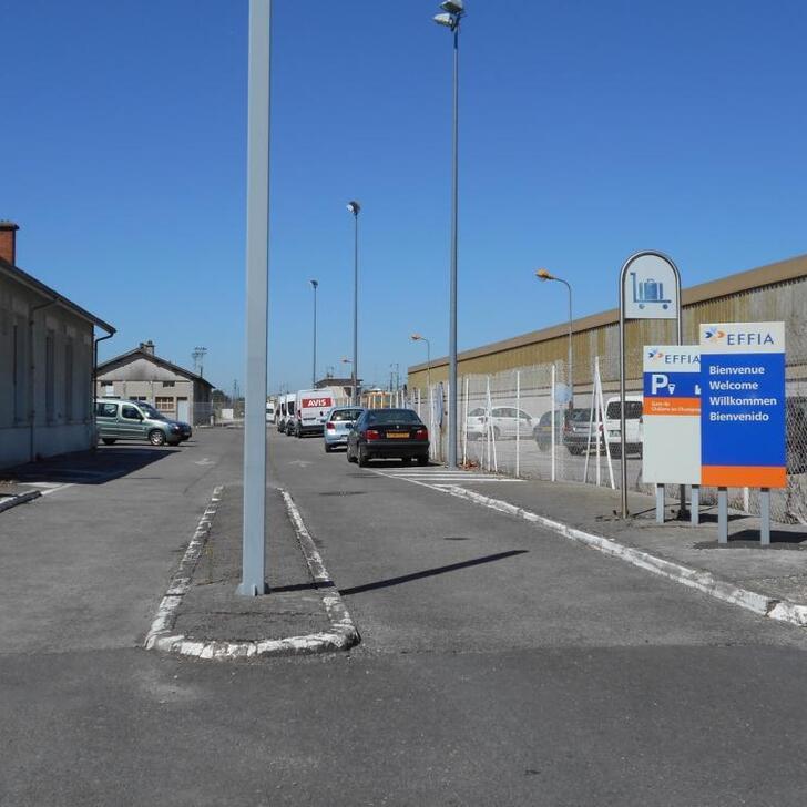 Parking Oficial EFFIA GARE DE CHÂLONS-EN-CHAMPAGNE (Exterior) Châlons-en-Champagne