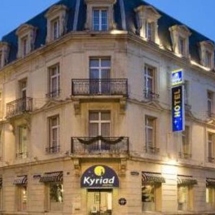 Parking Hotel KYRIAD REIMS CENTRE (Exterior) Reims