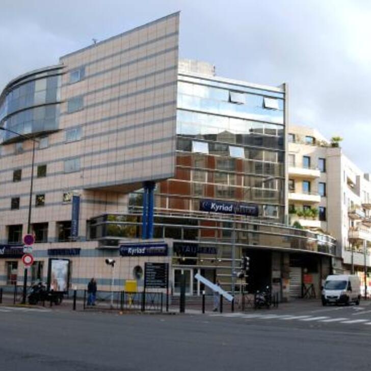 KYRIAD PRESTIGE JOINVILLE-LE-PONT Hotel Car Park (Covered) Joinville-Le-Pont
