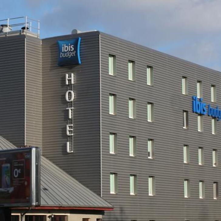 IBIS BUDGET LYON GERLAND Hotel Parking (Exterieur) Lyon