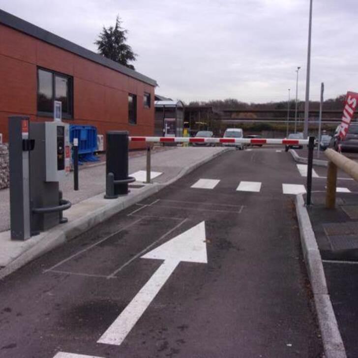 EFFIA GARE DU CREUSOT TGV P0 Officiële Parking (Exterieur) Torcy