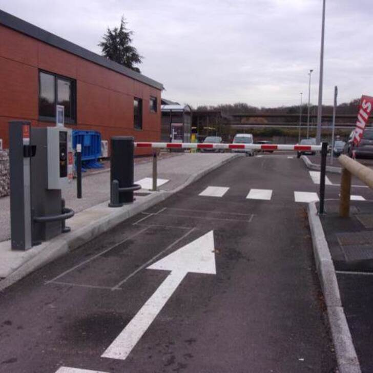 Parking Oficial EFFIA GARE DU CREUSOT TGV P0 (Exterior) Torcy