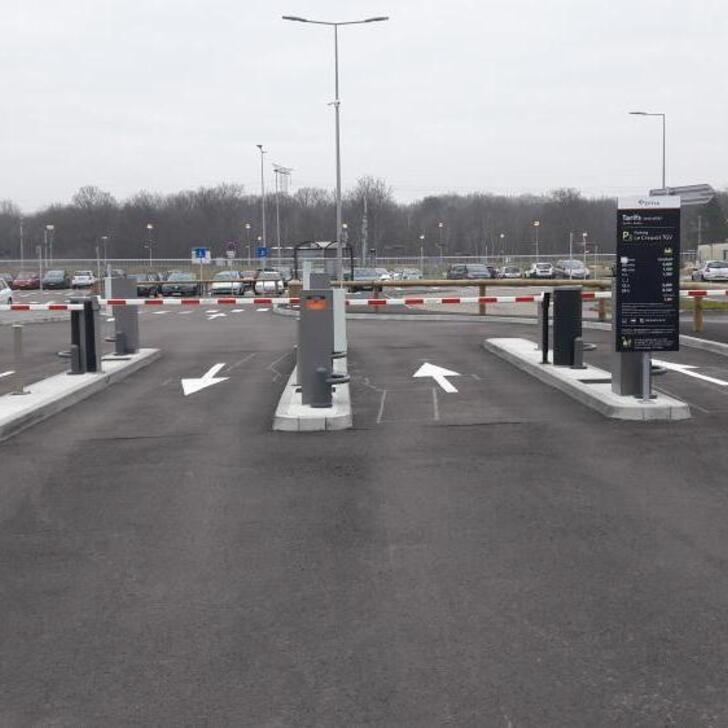 EFFIA GARE DU CREUSOT TGV P2 Officiële Parking (Exterieur) Torcy