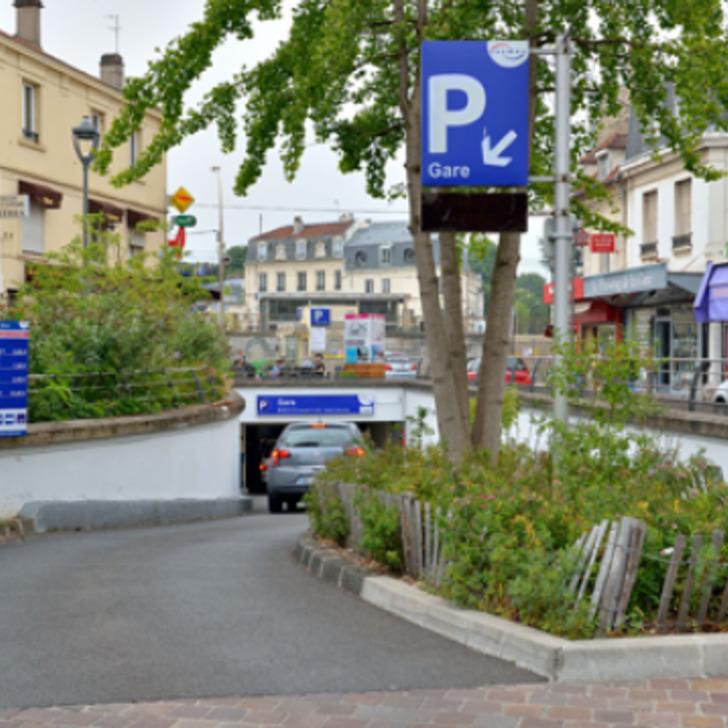 SAEMES GARE DE CHATOU - CROISSY Openbare Parking (Overdekt) Chatou