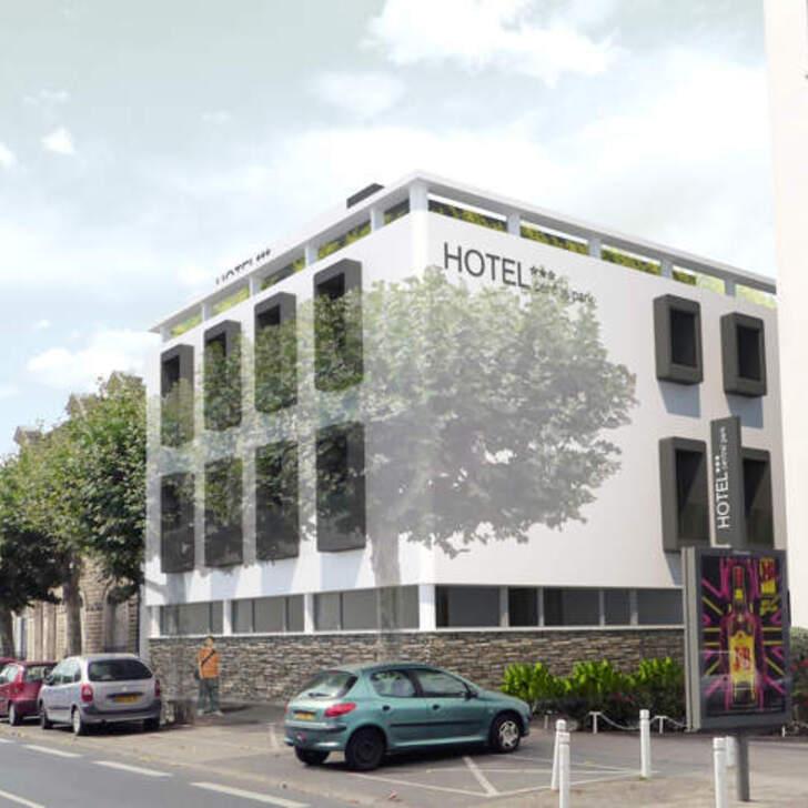 CENTRAL PARK HÔTEL & SPA Hotel Parking (Exterieur) La Rochelle