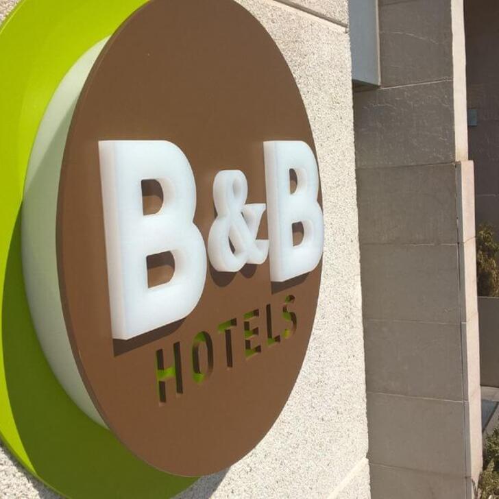 Parking Hôtel B&B MADRID AIRPORT T1-T2-T3 (Couvert) Madrid