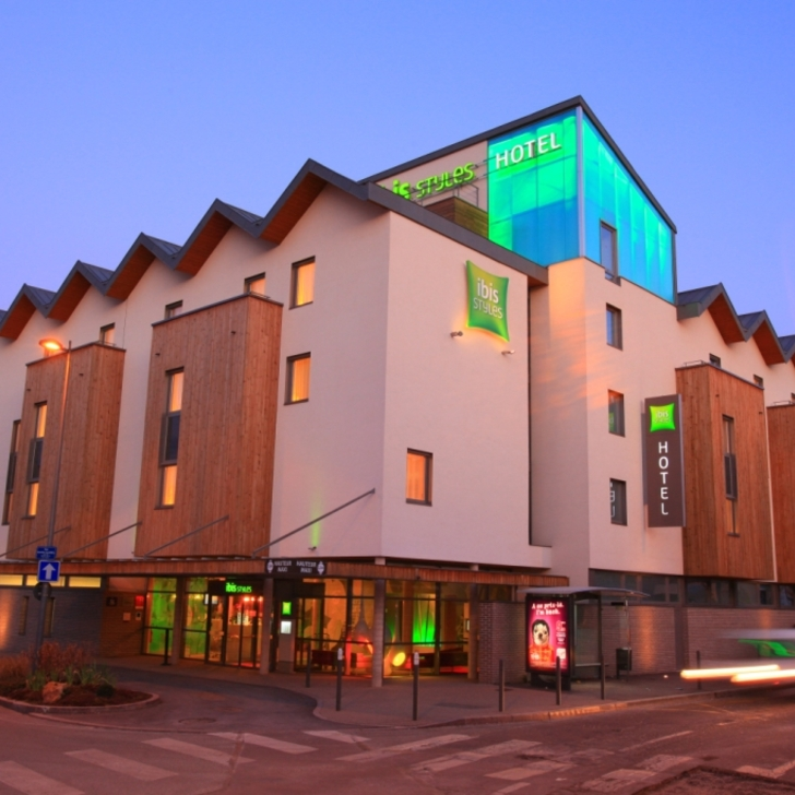 IBIS STYLES TROYES CENTRE Hotel Car Park (Covered) Troyes