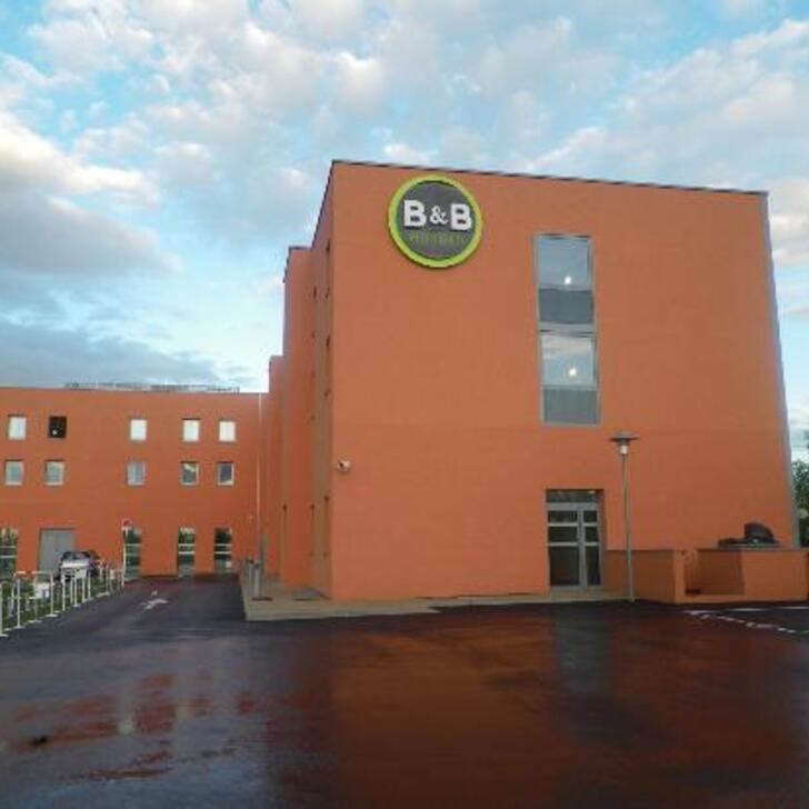 B&B REIMS BEZANNES Hotel Parking (Exterieur) Bezannes
