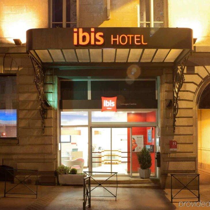 Parking Hôtel IBIS LIMOGES CENTRE (Extérieur) Limoges