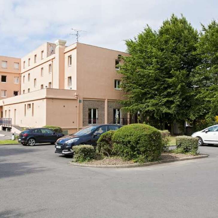 COMFORT LILLE EUROPE Hotel Parking (Exterieur) Lille