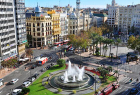 Car parks in Valencia city centre - Book at the best price
