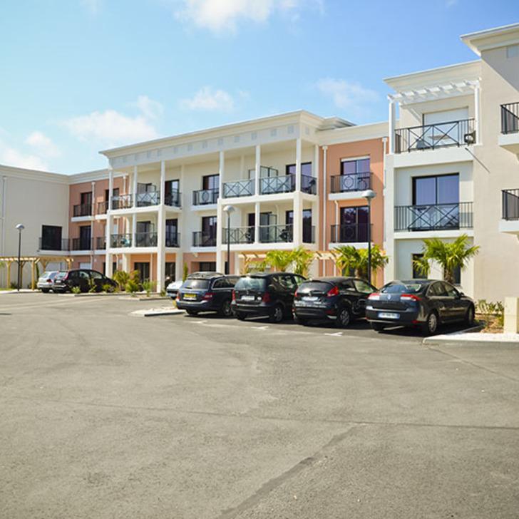 Parking Hôtel ADONIS LA BAULE (Extérieur) La Baule