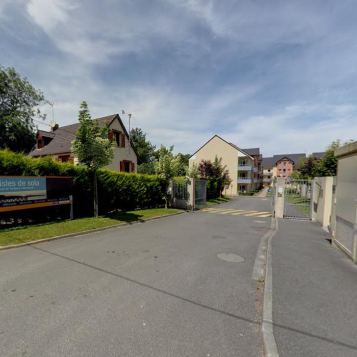 ADONIS GRANDCAMP - LES ISLES DE SOLA Hotel Parking (Exterieur) Grandcamp-Maisy