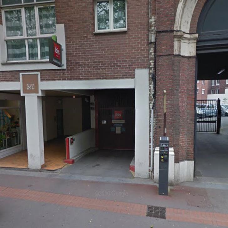 Parking Hôtel IBIS LILLE ROUBAIX CENTRE (Couvert) Roubaix