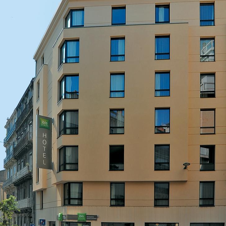 Parking Hôtel IBIS STYLES MONTPELLIER CENTRE COMÉDIE (Couvert) Montpellier