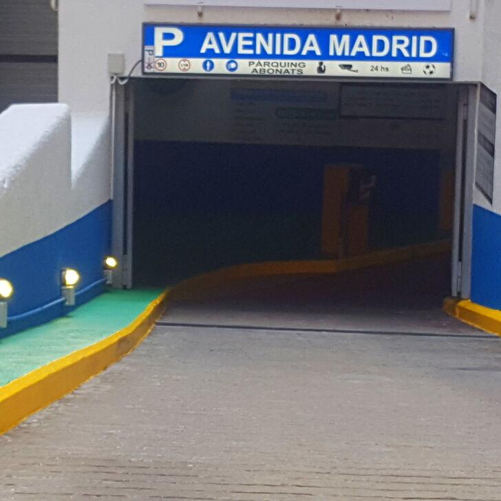 Parking Público AVENIDA MADRID (Cubierto) Barcelona