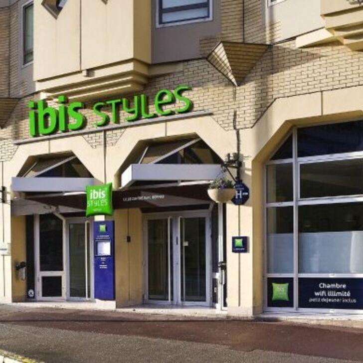 IBIS STYLES LILLE CENTRE GARE BEFFROI Hotel Parking (Exterieur) Lille