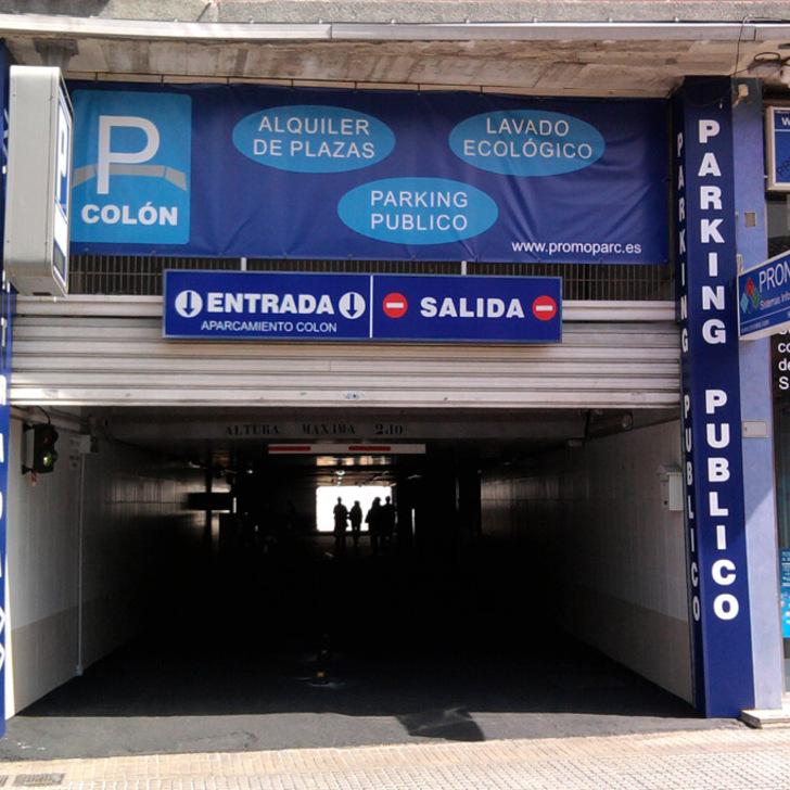 Öffentliches Parkhaus PROMOPARC COLÓN (Überdacht) Gandía