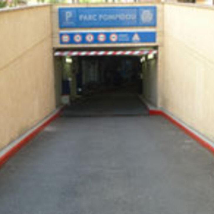 LEVAPARC GEORGES POMPIDOU Openbare Parking (Overdekt) Levallois