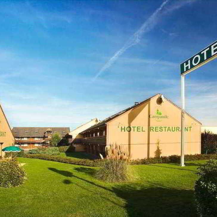 CAMPANILE BEAUVAIS Hotel Parking (Exterieur) Beauvais