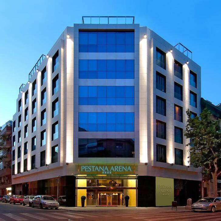 Parking Hotel PESTANA ARENA BARCELONA (Cubierto) Barcelona