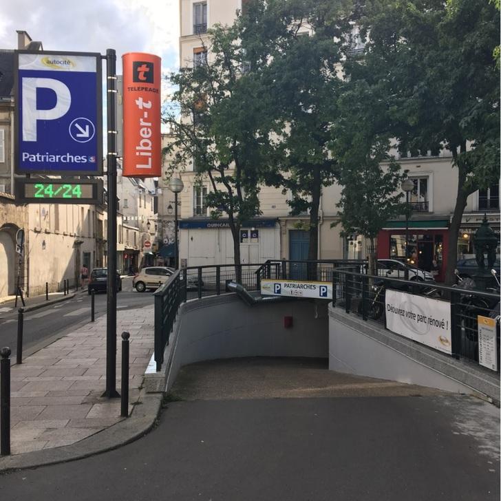 Parking Público INDIGO-PATRIARCHES (Cubierto) Paris