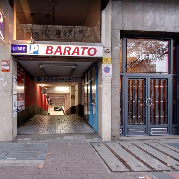 Parking Public BARATO (Extérieur) Madrid