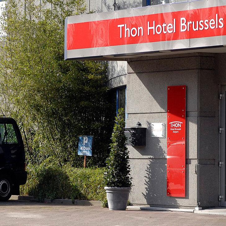 THON HOTEL BRUSSELS AIRPORT Hotel Car Park (External) Machelen
